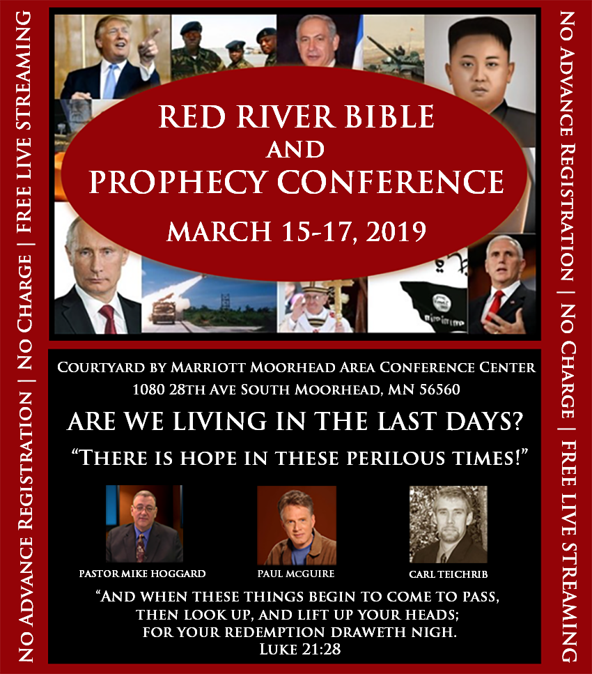 RED RIVER BIBLE & PROPHECY CONFERENCE 2019